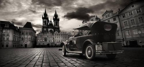 vintage Prague by almiller