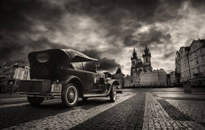 vintage Prague 2 by almiller