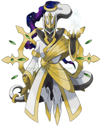 Sinnoh 107: Arceus (Gospel Form) [v2] by legendguard