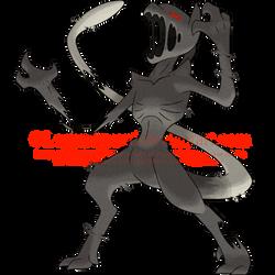 Naraht 139: Glitch01 (Phantom Form) [v2] by legendguard