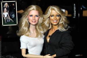 Cheryl Ladd and Farrah Fawcett by farrahlfawcett