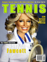 TENNIS with Farrah by farrahlfawcett