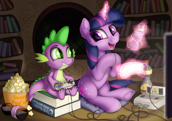 Gaming Time by Awalex