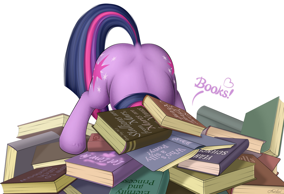 She likes reading books by Awalex