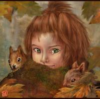 Child of Autumn by Thunderbird111