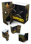 Sapporo 133 Packaging by pentipentipen