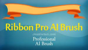 Ribbon - Pro Illustrator Brush by Grasycho