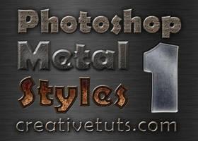 Photoshop Metal Layer Styles by Grasycho
