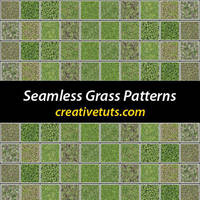 Seamless Grass Patterns for PS by Grasycho