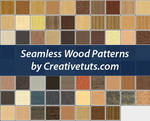 Seamless Wood Patterns for PS by Grasycho