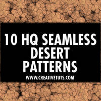 Arid Desert Seamless Patterns by Grasycho