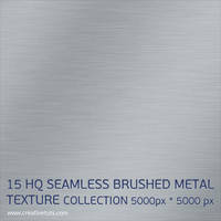 15 HQ SEAMLESS BRUSHED METAL TEXTURE COLLECTION by Grasycho