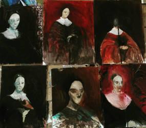 Esperancita (all studies) by Lila1925