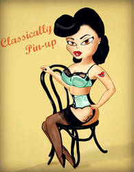 Classically Pin-up by SirCassie