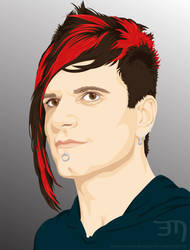 Portrait of Klayton by erica-marie-designs