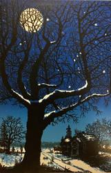 Manuels Tree - Cold Night by BAKoehn
