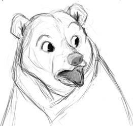 Disney Bear Sketch by YOHONBANTA