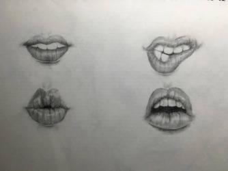 Lips by YOHONBANTA