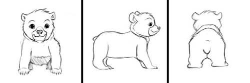 Bear Turnarounds by YOHONBANTA