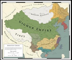 Greater China - 1620: The Uighur Triumph by ShahAbbas1571