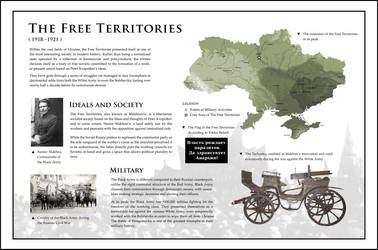 The Free Territories (1918 - 1921) by ShahAbbas1571