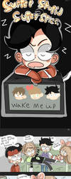 SSSS wake me up by Adventureorrage