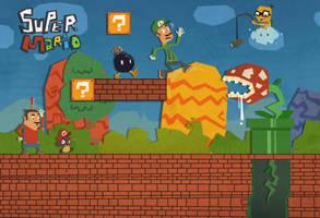 Super Mario by IndianaJonas