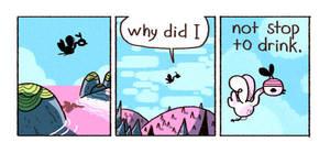 flying bird by IndianaJonas