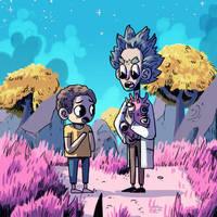 Rick and Morty by IndianaJonas