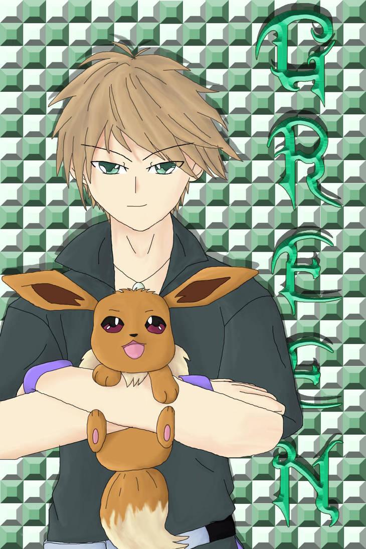 Pokemon Trainer Green By Katiefrog217 On Deviantart