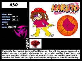 Aso bio sheet by BrandyKoopa92