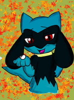 Cute riolu by BrandyKoopa92