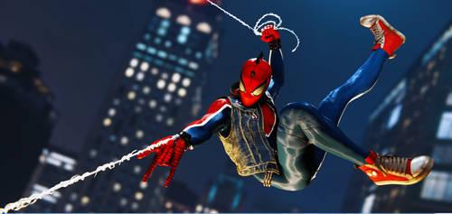 Marvel's Spider-Man Spider-punk 2 by JCRPrints