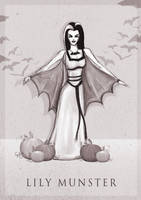 Lily Munster by ThePea