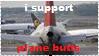 plane butt stamp by sharkplane77