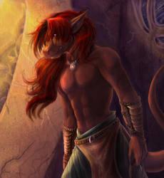 Ataskra in Shadows by Daroneasa