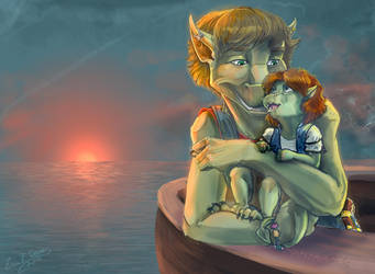 Brothers at Dawn by Daroneasa