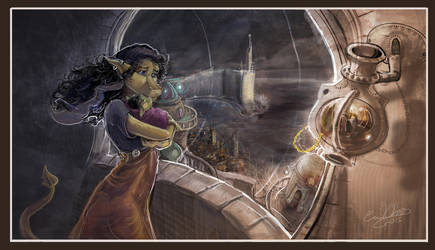 The Stargazer by Daroneasa