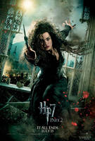 Bellatrix Action Poster by HarryPotter645