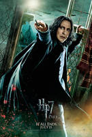 Snape Action Poster by HarryPotter645