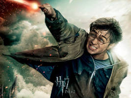 Harry Action Wallpaper by HarryPotter645