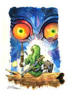 Zelda: Majoras mask by caindonofirmamento