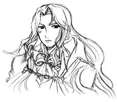 Alucard-sketch by neji-hinata