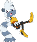 Tangle the Lemur by SuperAj3