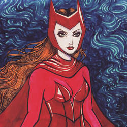 Scarlet Witch by spiderlily-studio