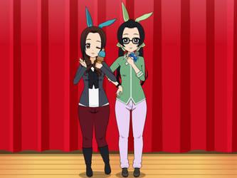 So Rui and Haru by B1GB4N