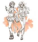 COMM: Suki and Ai Lee by SkyGiratina00