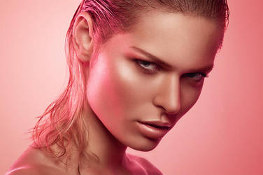Damien Mohn Pink Retouch by AMarfoog