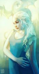 Khaleesi by escume