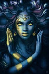 Night Goddess by escume